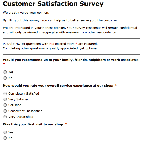store surveys why your auto repair shop or tire store needs customer 6205
